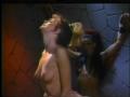 Horny Slut Bound To The Wall And Fucked