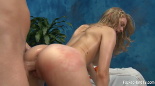 Fucked Hard From Behind After Massage