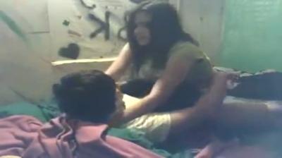 desi Sexy Indian teen fucks in hostel