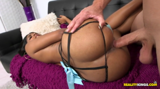 Busty Latina Caressed, Sucked And Dicked With Huge Cock