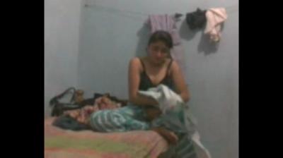desi Desi Girlfriend fucked hard in BFs hostel