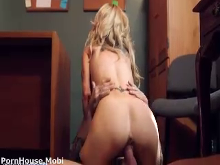 Horny Sarah Fucked In Office