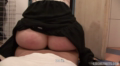 Toilet Quickie On Blonde Old Bombshell