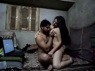 desi College couple enjoying in Hotel room