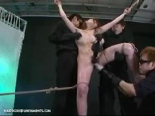 Japanese bondage sex extreme bdsm punishment of ayumi